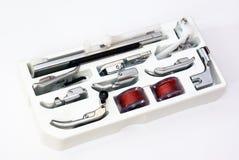 Sewing machine kit. Close-up of sewing machine kit Stock Images