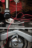 Sewing machine mechanism Stock Photos