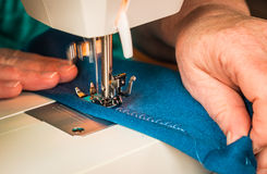 Sewing Machine Motion Stock Photos