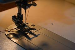 Sewing machine needle stock photography