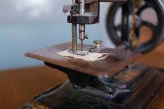 Sewing machine needle. Old vintage sewing machine needle Royalty Free Stock Images