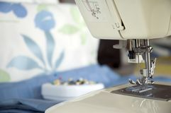 Sewing Machine Needle Right Stock Image