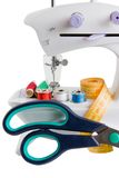 Sewing machine and needle things Stock Photography