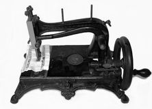 Sewing-machine (nineteen century) Stock Photography