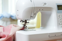 Sewing machine. And other sewing equipment Royalty Free Stock Images