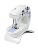 Sewing machine over white Royalty Free Stock Photos