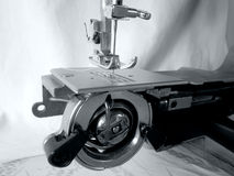 Sewing machine. Parts detail device Stock Image