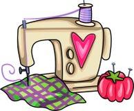 SEWING MACHINE Royalty Free Stock Image