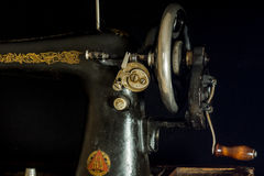 Sewing machine retro Royalty Free Stock Images