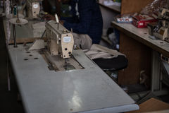 Sewing Machine in Shop Stock Photography