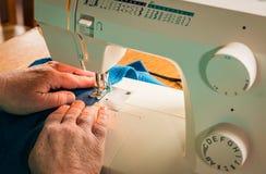 Sewing Machine Sitching Stock Image
