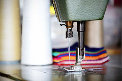 Sewing machine. For the tailor Royalty Free Stock Photography