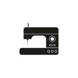 Sewing machine vector icon Stock Image
