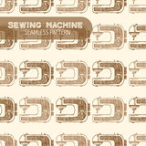 Sewing Machine Vintage style Royalty Free Stock Photos