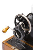 Sewing-machine on the white background Royalty Free Stock Images