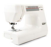 Sewing-machine on white Stock Photography