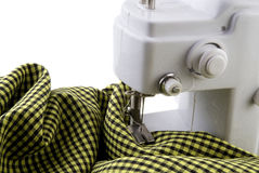 Sewing-machine at work Royalty Free Stock Photography