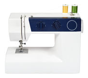 Sewing machine. With yarn and needle Royalty Free Stock Images