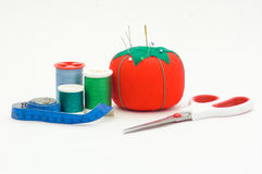 Sewing materials Stock Images