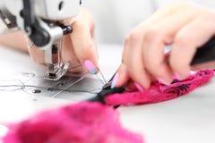 sewing Máquina de costura Imagem de Stock Royalty Free