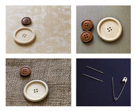 Sewing Needle Set Stock Photos