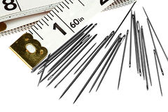 Sewing needles Stock Images