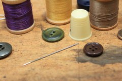 Sewing notions Stock Photo