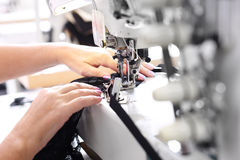 Free Sewing On A Machine Stock Photo - 59758080