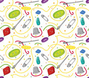 Sewing Pattern Stock Images
