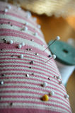 Sewing Pin Cushion Royalty Free Stock Image