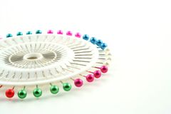 Sewing Pins Royalty Free Stock Image