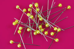 sharp pins Stock Photos