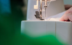 Sewing Process Stock Photo