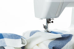 Sewing process Royalty Free Stock Images