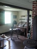 Sewing Room in Cape Breton. Sewing room at Sherbrook Village in Cape Breton Royalty Free Stock Photography