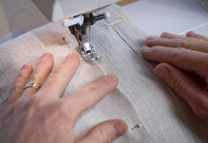 Sewing seam Stock Image