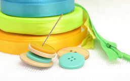 Sewing set Royalty Free Stock Photo