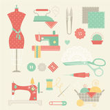 Sewing set Stock Photos