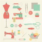 Sewing set Stock Photos