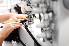 Sewing. Sewing machine Royalty Free Stock Images