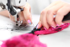 Sewing. Sewing machine Royalty Free Stock Image