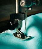 Sewing. Sewing machine and tools. Stock Photography