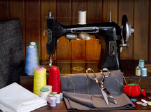 Sewing Shop Royalty Free Stock Images