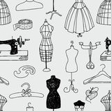 Sewing studio Royalty Free Stock Photography