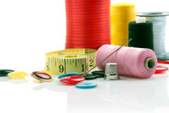 Sewing stuff Royalty Free Stock Photography