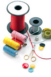 Sewing stuff Stock Photography