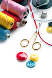 Sewing stuff Stock Images