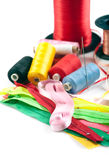 Sewing stuff Royalty Free Stock Image