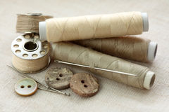 Sewing stuff Stock Image