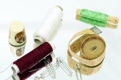 Sewing stuff, ladys companion Stock Photo